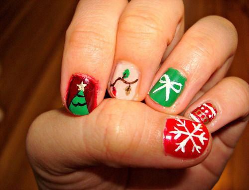 50-Best-Christmas-Nail-Art-Designs-Ideas-Stickers-2015-Xmas-Nails-37