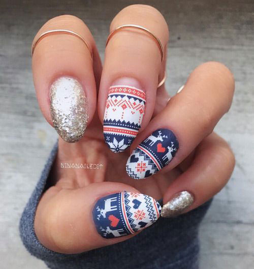 50-Best-Christmas-Nail-Art-Designs-Ideas-Stickers-2015-Xmas-Nails-41