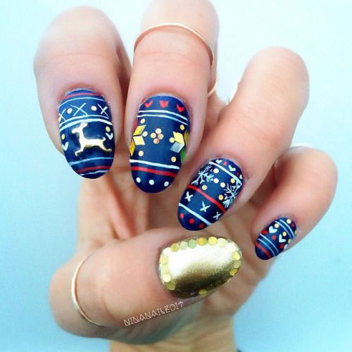 50-Best-Christmas-Nail-Art-Designs-Ideas-Stickers-2015-Xmas-Nails-42