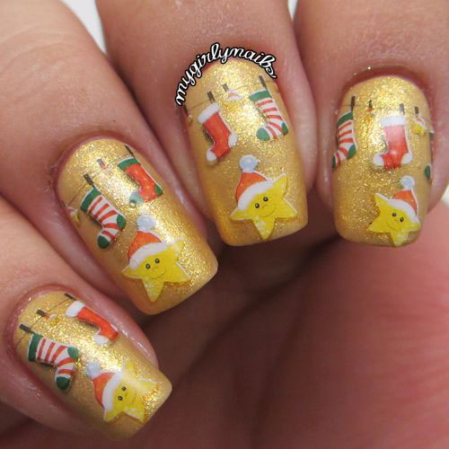 50-Best-Christmas-Nail-Art-Designs-Ideas-Stickers-2015-Xmas-Nails-45