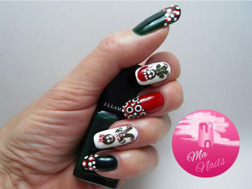 50-Best-Christmas-Nail-Art-Designs-Ideas-Stickers-2015-Xmas-Nails-46