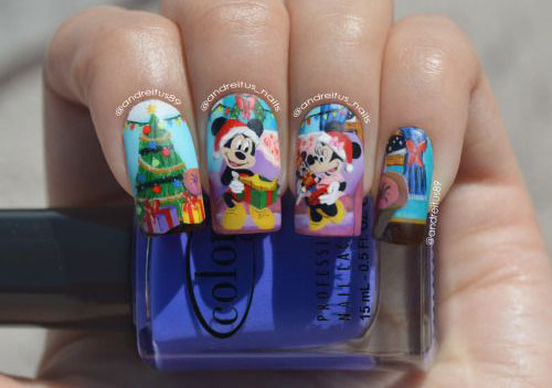 50-Best-Christmas-Nail-Art-Designs-Ideas-Stickers-2015-Xmas-Nails-47