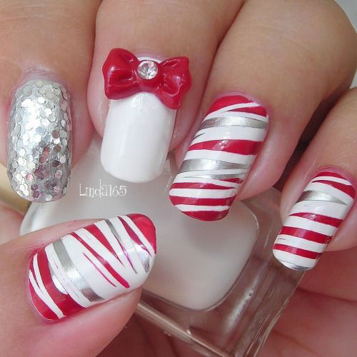 50-Best-Christmas-Nail-Art-Designs-Ideas-Stickers-2015-Xmas-Nails-8