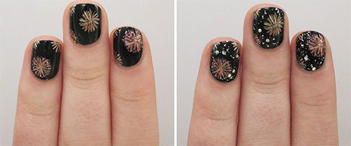 Simple-Easy-Happy-New-Year-Eve-Nail-Art-Tutorials-2015-2016-7