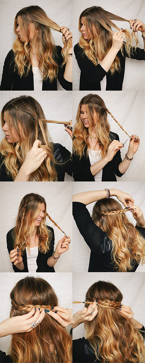 Simple Step By Step Winter Hairstyle Tutorials For Beginners & Learners 2016 | Modern Fashion Blog