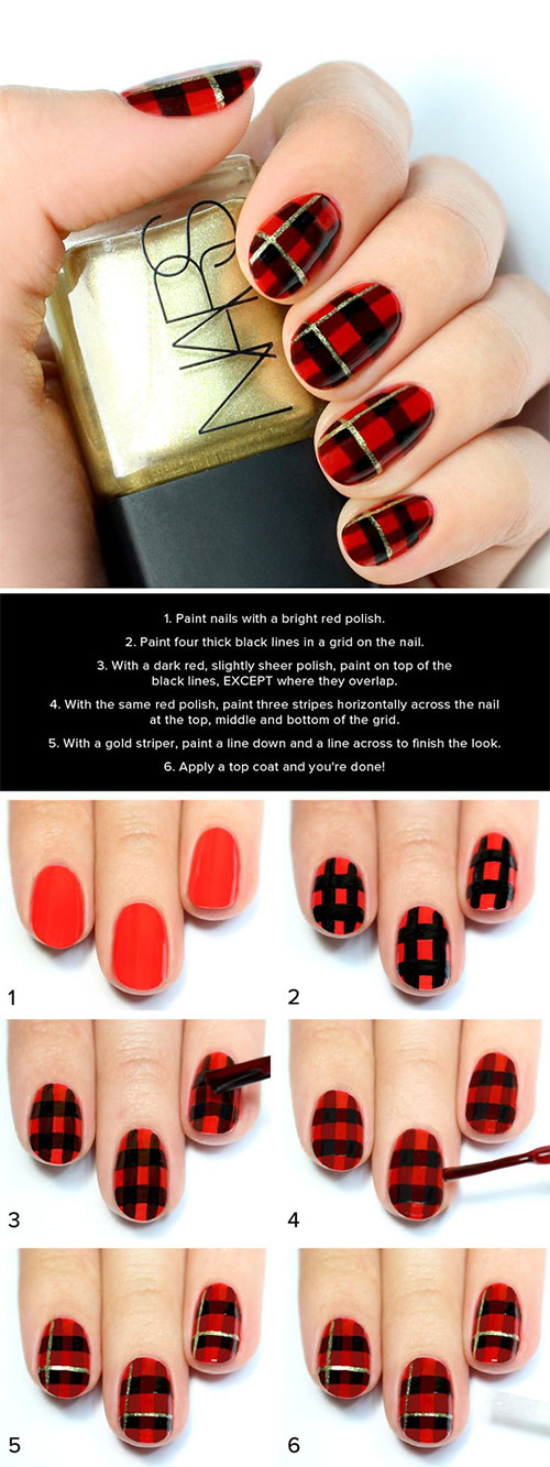 10-Simple-Winter-Nail-Art-Tutorials-For-Learners-2016-10