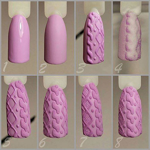 10-Simple-Winter-Nail-Art-Tutorials-For-Learners-2016-9