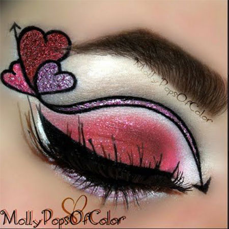 12-Valentines-Day-Heart-Eye-Makeup-Looks-Ideas-For-Girls-Women-2016-2
