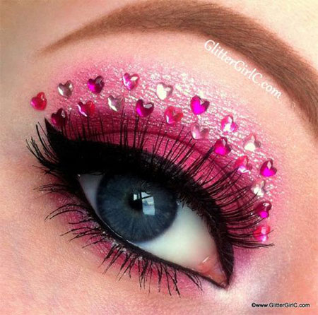 12-Valentines-Day-Heart-Eye-Makeup-Looks-Ideas-For-Girls-Women-2016-8
