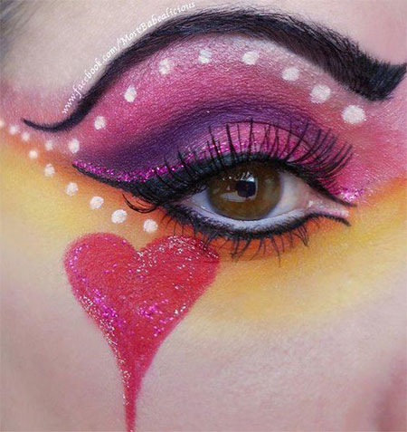 12-Valentines-Day-Heart-Eye-Makeup-Looks-Ideas-For-Girls-Women-2016-9