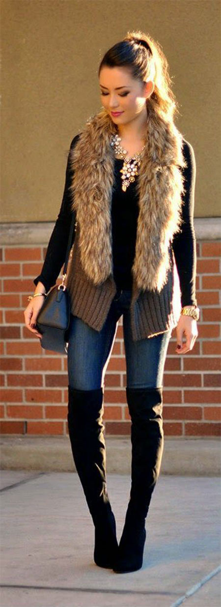 18 Latest Winter Street Fashion Ideas Trends For Women 2016 Modern Fashion Blog