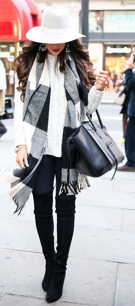 18 Latest Winter Street Fashion Ideas Trends For Women