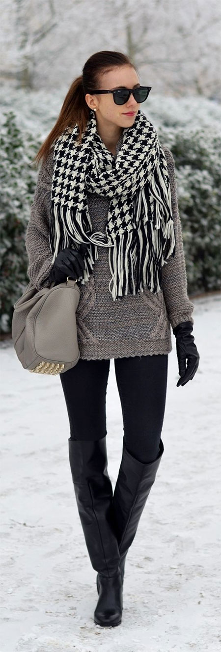 18 Latest Winter Street Fashion Ideas & Trends For Women ...