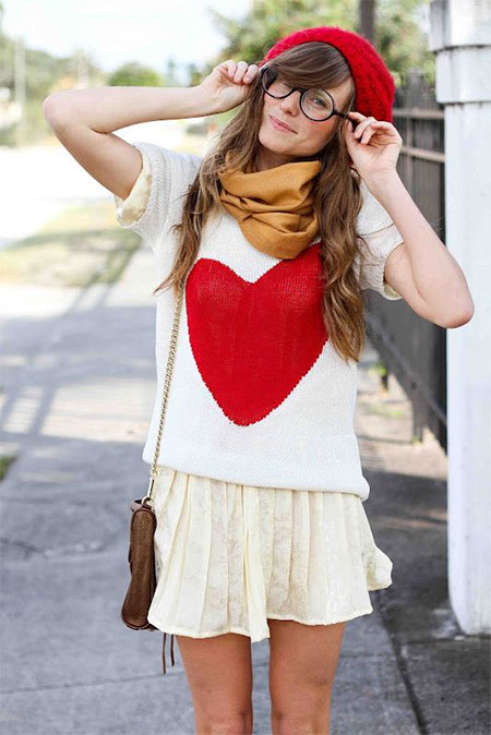 20-Valentines-Dresses-Outfits-Ideas-For-Girls-Women-2016-2
