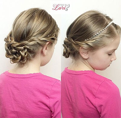 Surprising 10 Cute Easter Hairstyle Looks Amp Ideas For Kids Amp Girls 2016 Hairstyles For Women Draintrainus