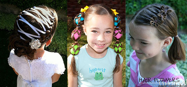10 Cute Easter Hairstyle Looks Ideas For Kids Girls 2016