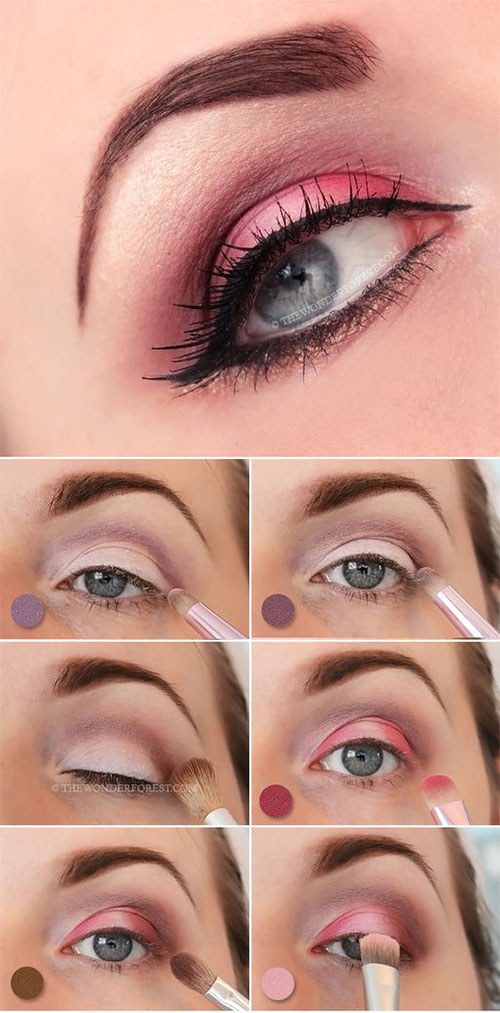 12-Easy-Valentines-Day-Makeup-Tutorials-For-Beginners-Looks-2016-1