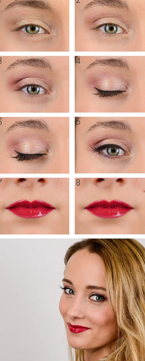 12-Easy-Valentines-Day-Makeup-Tutorials-For-Beginners-Looks-2016-6