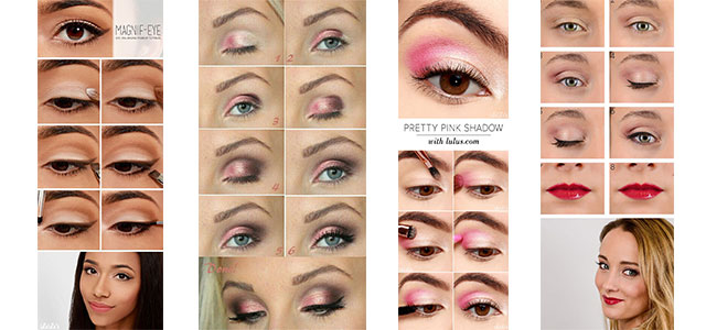 12 Easy Valentine's Day Makeup Tutorials For Beginners & Looks 2016 | Modern Fashion Blog