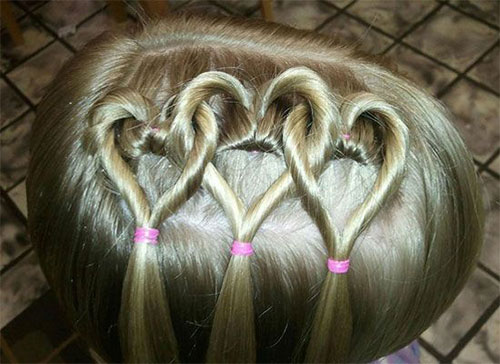 Valentines Hairstyles: 15+ Valentine's Day Hairstyle Ideas & Looks For Little