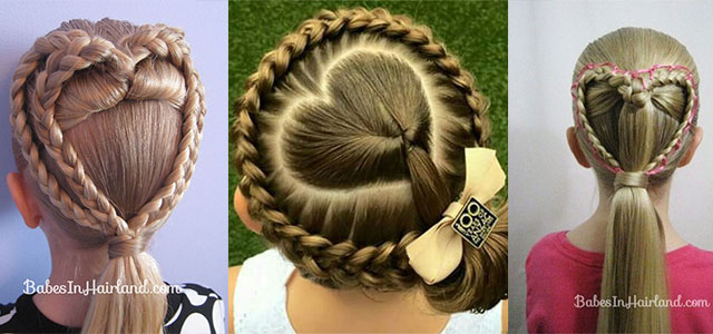 15+ Valentineu0027s Day Hairstyle Ideas U0026 Looks For Little Girls 2016