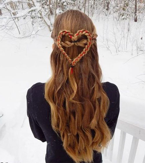 Hairstyles for Valentine