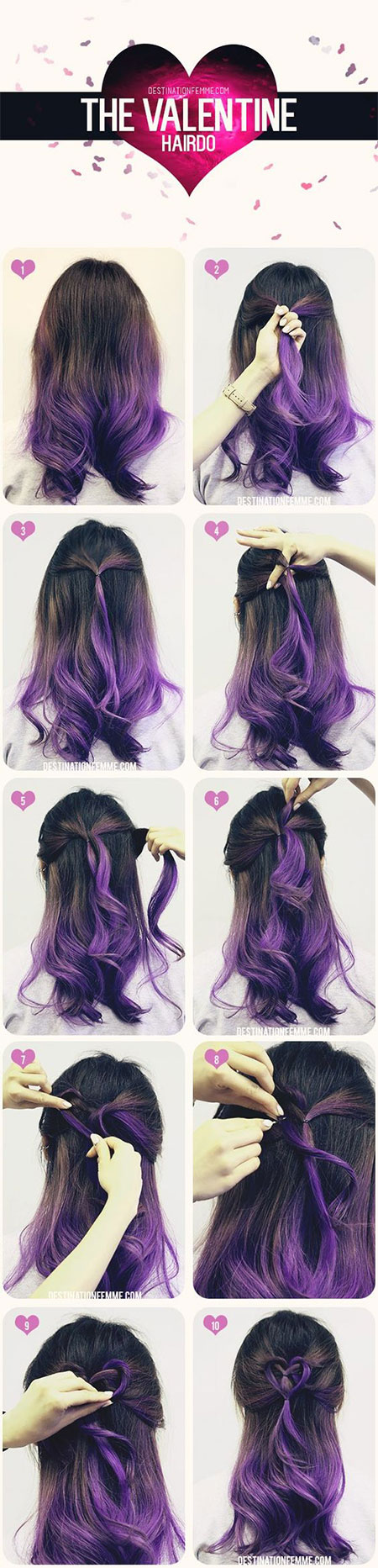 Easy-Valentines-Day-Hairstyle-Tutorials-For-Beginners-Learners-2016-4