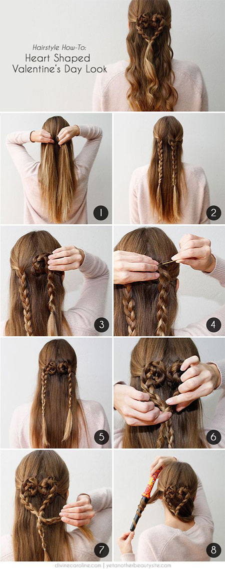 Easy-Valentines-Day-Hairstyle-Tutorials-For-Beginners-Learners-2016-6