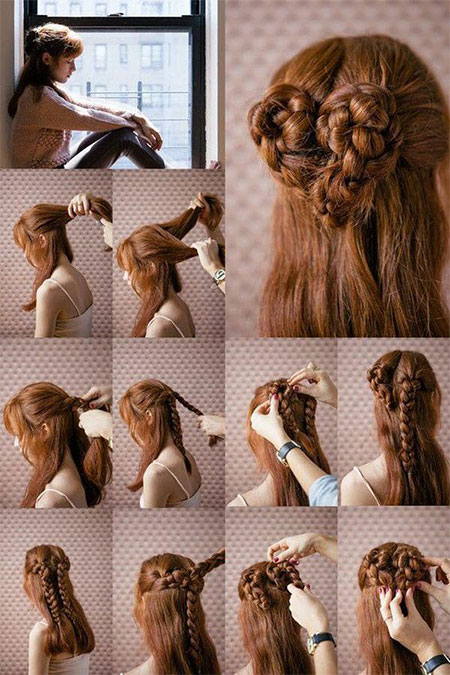 Easy-Valentines-Day-Hairstyle-Tutorials-For-Beginners-Learners-2016-9