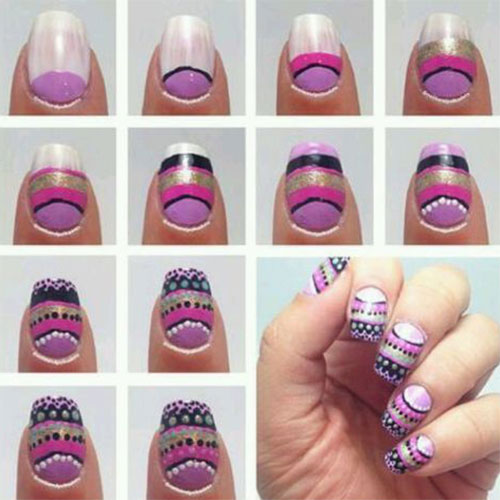 10 easy step by step easter nail art tutorials for learners 2016 10 easy step by step easter nail art prinsesfo Choice Image