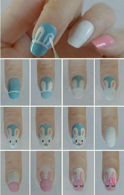 10-Easy-Step-By-Step-Easter-Nail-Art-Tutorials-For-Learners-2016-8
