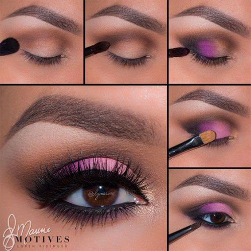 10-Step-By-Step-Spring-Makeup-Tutorials-For-Beginners-2016-1