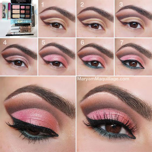 10-Step-By-Step-Spring-Makeup-Tutorials-For-Beginners-2016-2