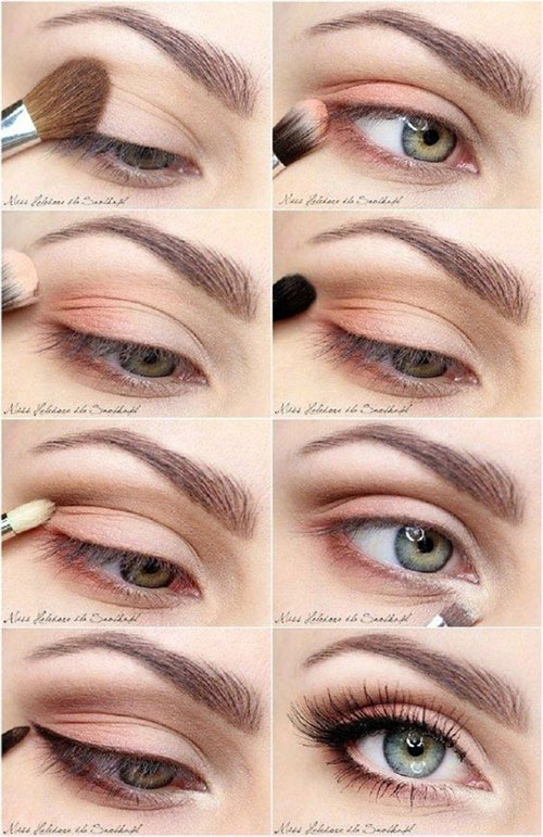 10-Step-By-Step-Spring-Makeup-Tutorials-For-Beginners-2016-4