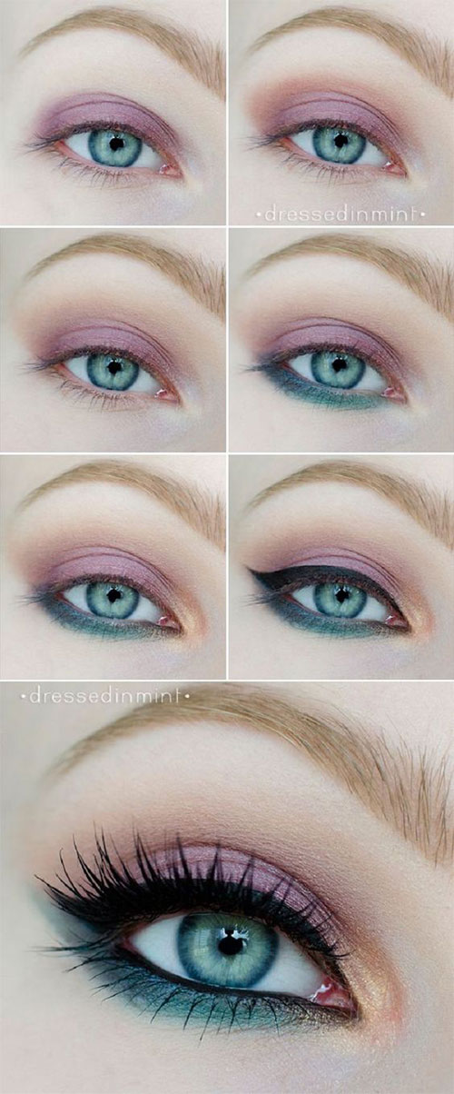 10-Step-By-Step-Spring-Makeup-Tutorials-For-Beginners-2016-6