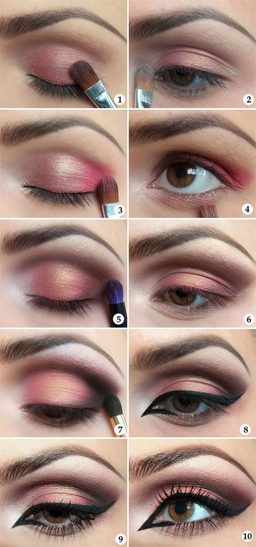10-Step-By-Step-Spring-Makeup-Tutorials-For-Beginners-2016-8