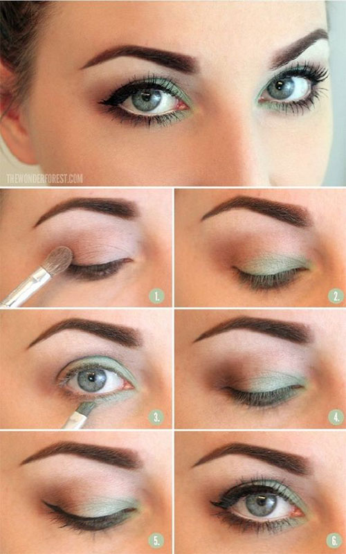 10 Step By Spring Makeup Tutorials For