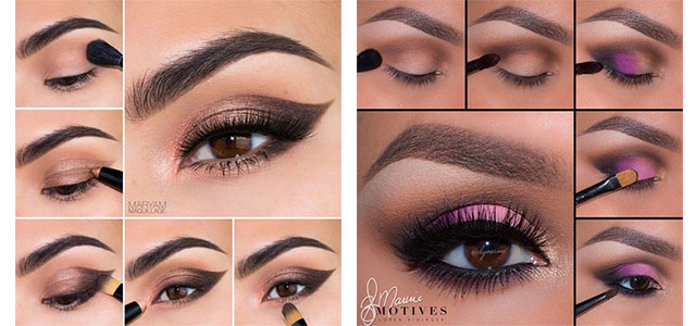 10-Step-By-Step-Spring-Makeup-Tutorials-For-Beginners-2016-f