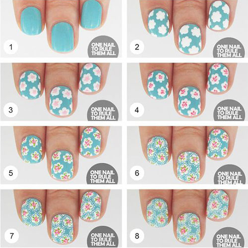 15-Easy-Spring-Nails-Tutorials-For-Beginners-Learners-2016-1