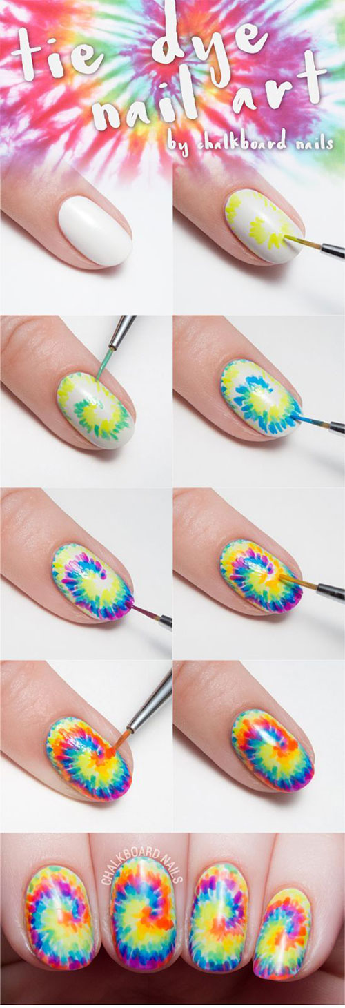 15-Easy-Spring-Nails-Tutorials-For-Beginners-Learners-2016-14