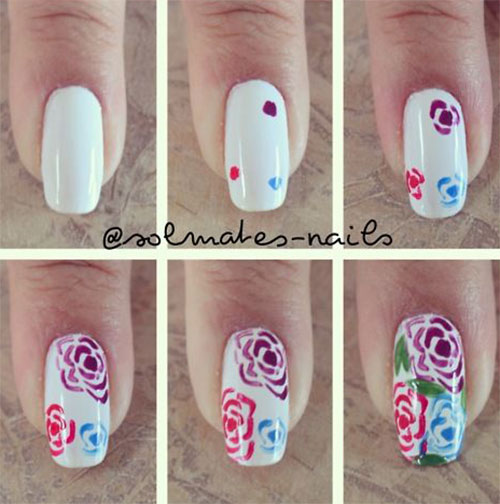 15-Easy-Spring-Nails-Tutorials-For-Beginners-Learners-2016-2