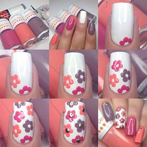 15-Easy-Spring-Nails-Tutorials-For-Beginners-Learners-2016-5