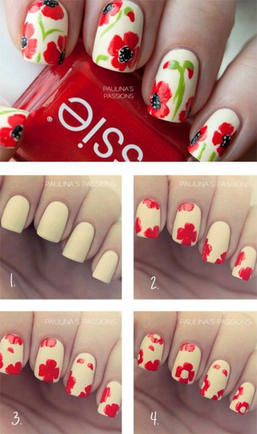 15-Easy-Spring-Nails-Tutorials-For-Beginners-Learners-2016-7
