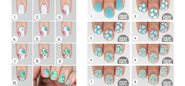 15-Easy-Spring-Nails-Tutorials-For-Beginners-Learners-2016-F