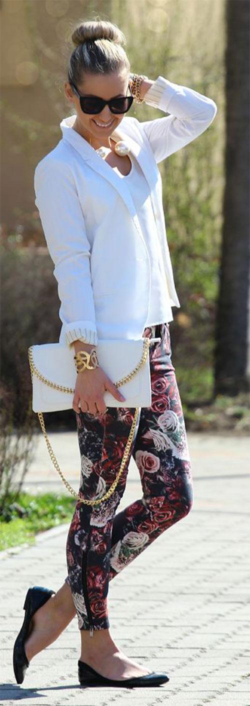 20-Pink-Black-Blue-Floral-Pants-Fashion-Ideas-2016-For-Girls-Women-15
