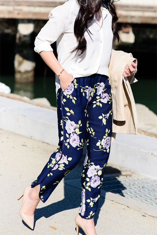 20-Pink-Black-Blue-Floral-Pants-Fashion-Ideas-2016-For-Girls-Women-20