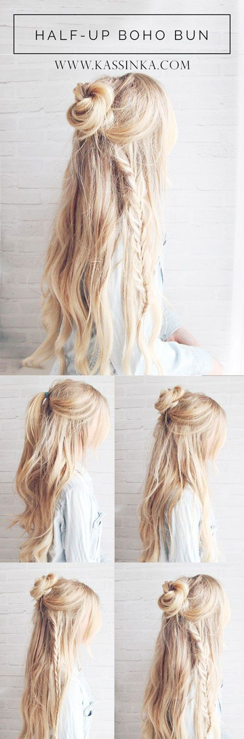12 Step By Step Spring Hairstyle Tutorials For Learners ...