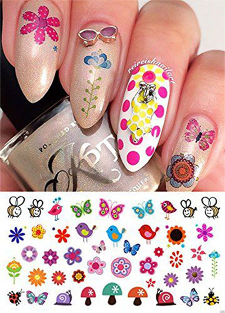 Cute-Spring-Nail-Art-Stickers-2016-3