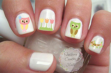 Cute-Spring-Nail-Art-Stickers-2016-4