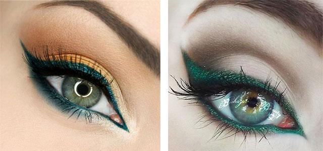 10-Green-Eyeliner-Looks-Ideas-2016-Eye-Liner-For-Green-Eyes-F